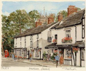 Prestbury by Glyn Martin