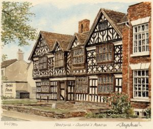 Nantwich - Churches Mansion by Glyn Martin