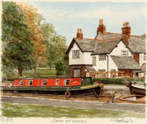 Worsley Canal by Glyn Martin