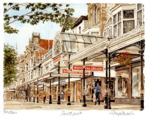 Southport - Lord Street by Philip Martin