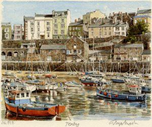 Tenby by Glyn Martin