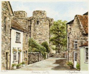 Nunney Castle by Glyn Martin