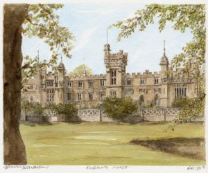Knebworth House by Philip Martin