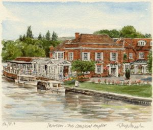 Marlow - Compleat Angler by Glyn Martin