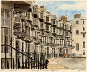 Brighton - Royal Crescent by Philip Martin
