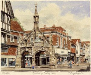 Salisbury - Poultry Cross by Glyn Martin