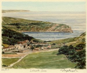 Dorset Coast near Lulworth by Glyn Martin
