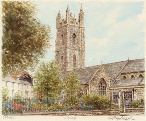 Cardiff - St. John's Church by Glyn Martin