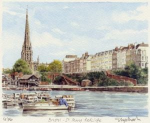 Bristol - St. Mary Redcliffe by Glyn Martin