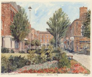 Welwyn Garden City by Philip Martin