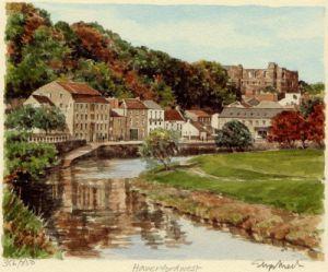 Haverfordwest by Glyn Martin