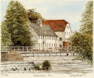 Hambleden Mill - Thames by Glyn Martin