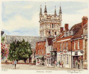 Wimborne Minster by Glyn Martin