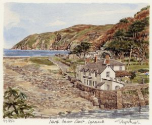 Lynmouth by Glyn Martin