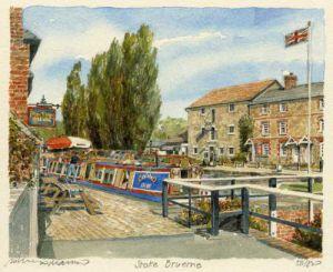 Stoke Bruerne by Philip Martin