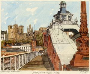 Newcastle - Swing Bridge by Philip Martin