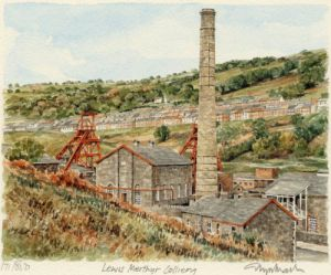 South Wales Valley by Glyn Martin