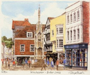 Winchester - Butter Cross by Glyn Martin