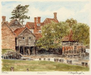 Beaulieu - Mill by Glyn Martin