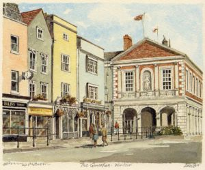 Windsor - Guildhall by Philip Martin