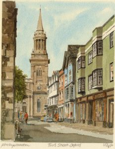 Oxford - Turl Street by Philip Martin