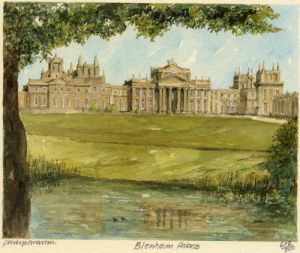 Blenheim Palace by Philip Martin