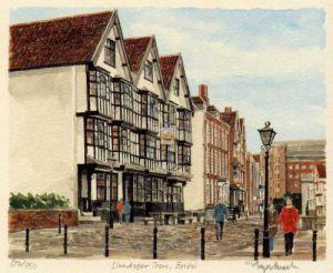 Bristol - Llandoger Trow by Glyn Martin