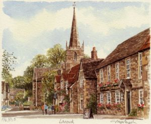 Lacock by Glyn Martin