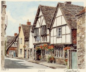 Lacock - The Angel by Glyn Martin