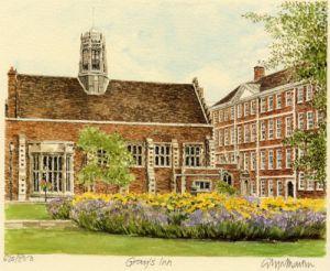 Gray's Inn by Glyn Martin