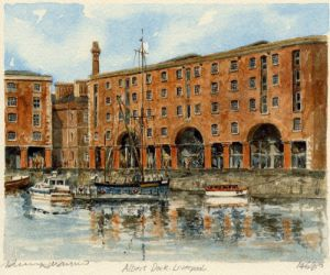 Liverpool - Albert Dock by Philip Martin