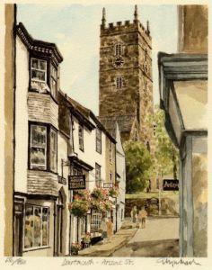 Dartmouth - Anzac St. by Glyn Martin