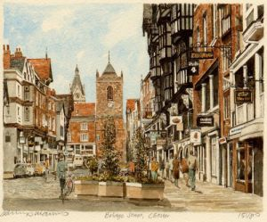 Chester - Bridge Street by Philip Martin