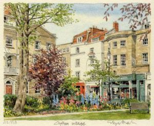 Bristol - Clifton Village by Glyn Martin