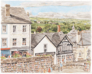 Hay-on-Wye by Glyn Martin
