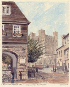 Rochester Castle by Philip Martin