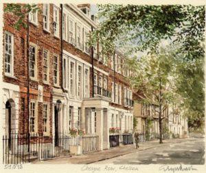 Cheyne Row by Glyn Martin