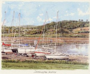 Carsington Water by Glyn Martin