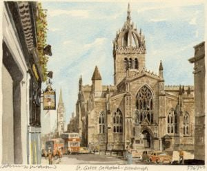 Edinburgh-St. Giles Cathedral by Philip Martin
