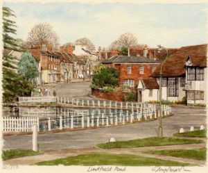 Lindfield - Pond by Glyn Martin