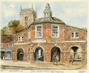 High Wycombe - Ltle. Mkt. Hse. by Philip Martin