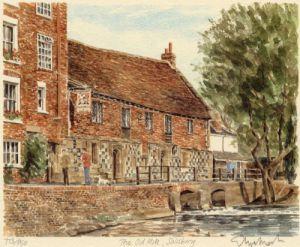 Salisbury - Harnham Mill by Glyn Martin