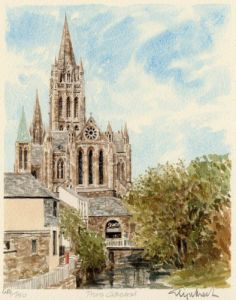 Truro Cathedral by Glyn Martin