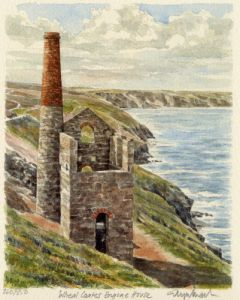 Cornish Tin Mine by Glyn Martin