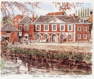 Exeter - The Custom's House by Glyn Martin