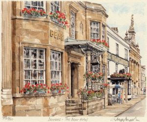 Devizes - The Bear by Glyn Martin