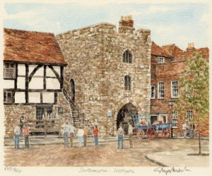 Southampton - West Gate by Glyn Martin