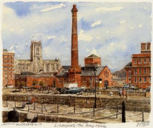 Liverpool - The Pump House by Philip Martin