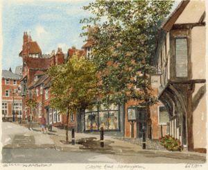 Nottingham - Castle Road by Philip Martin