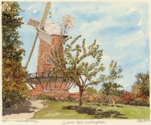 Nottingham - Greens Mill by Philip Martin